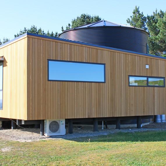 roger gilchrist: silo house back